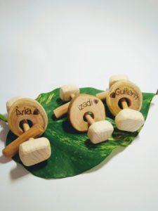 El mundo d'Alex : des jouets artisanaux en bois à Barcelone 9
