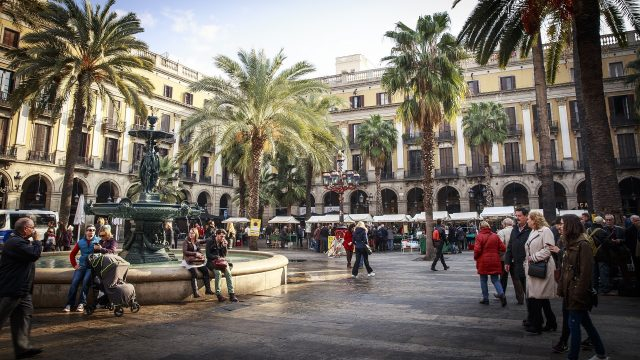 Barcelona - Gótico- Plaça Reial