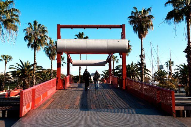 Barceloneta - pont