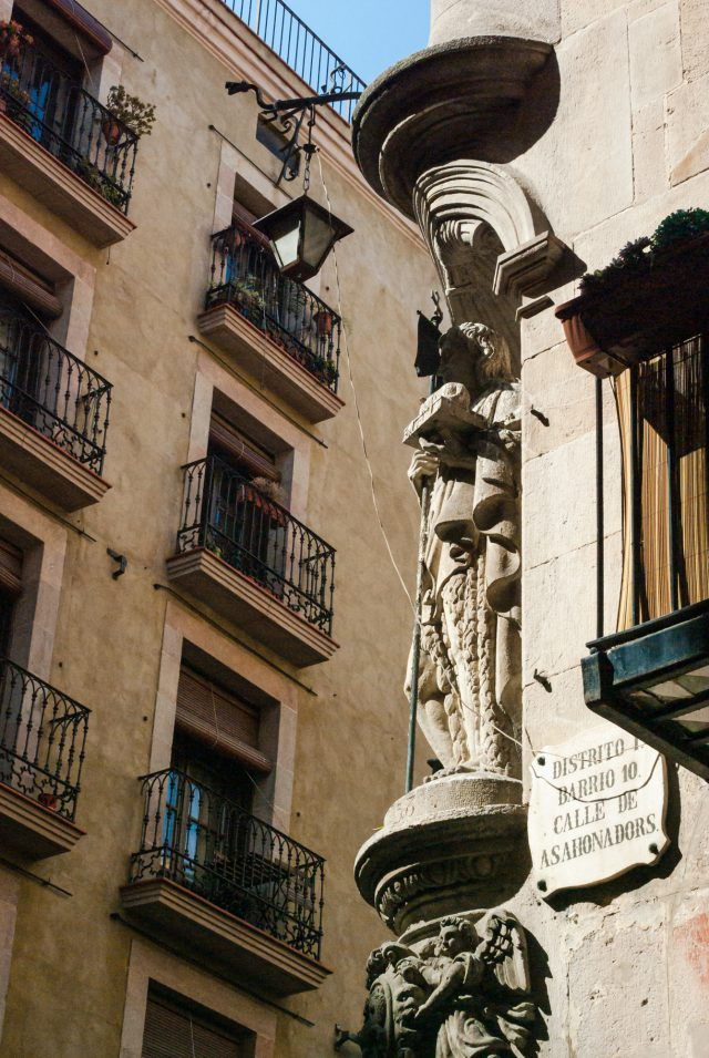 Barcelona - Born - asahonadors