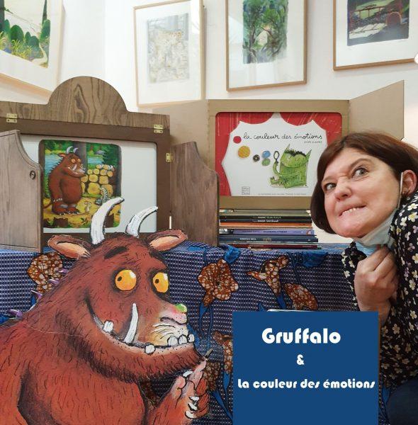 Spectacle – Gruffalo et la couleur des émotions à la librairie Jaimes