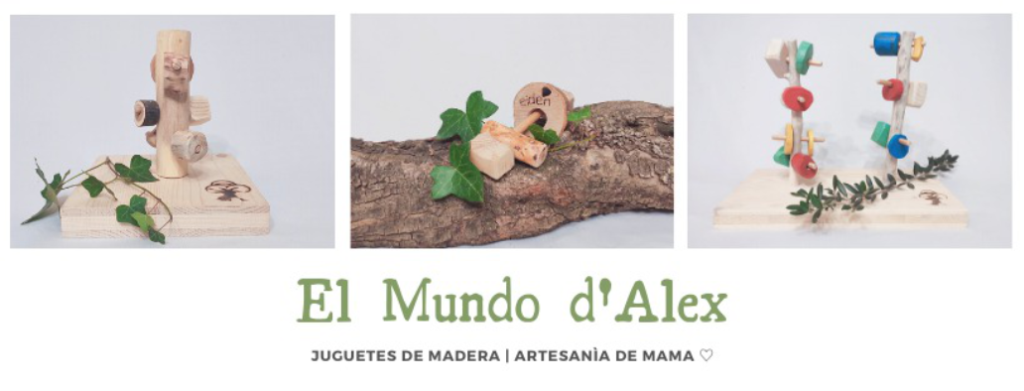 El mundo d'Alex : des jouets artisanaux en bois à Barcelone 12