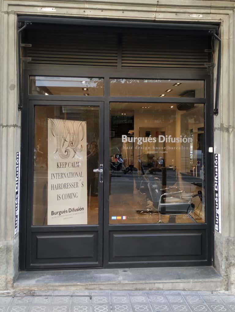 Burgués Difusión, un salon de coiffure international français à Barcelone 7